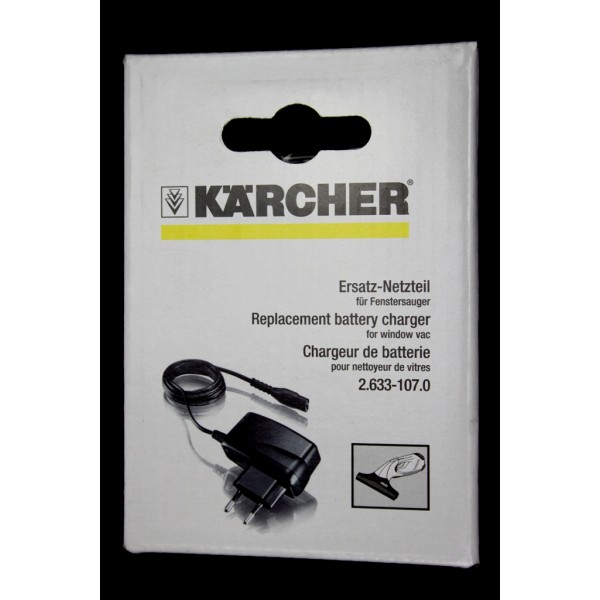 chargeur pour lave vitre karcher wv50. Black Bedroom Furniture Sets. Home Design Ideas