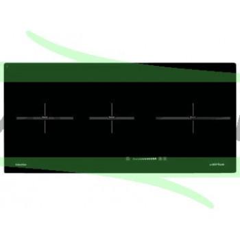 Dessus verre noir pour table induction AIRLUX ATI83BK
