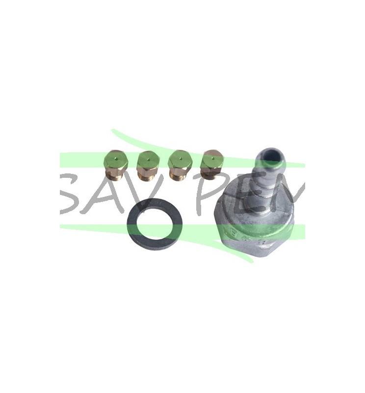 Kit injecteurs gaz butane pour table de cuisson AIRLUX - GLEM