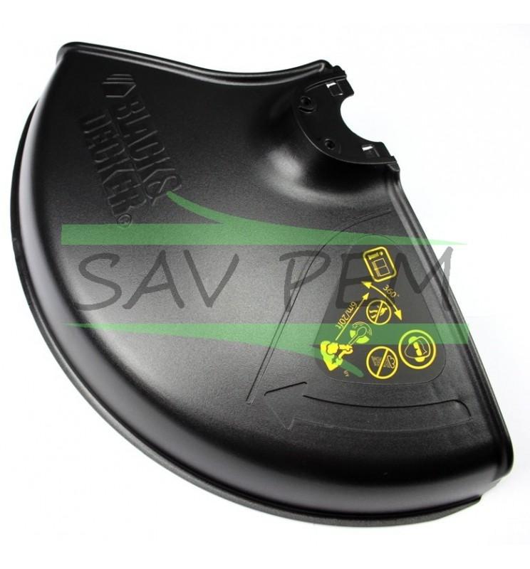 Carter de protection coupe bordure black et decker gl701 - Pieces detachees pour coupe bordure black et decker ...