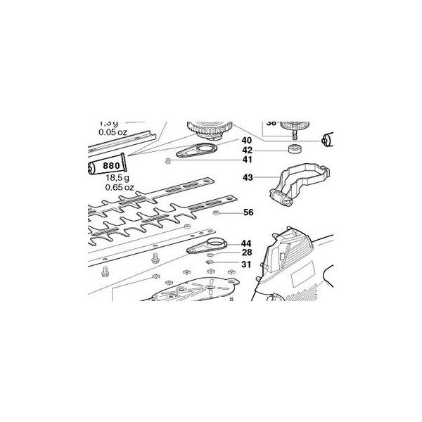 taille haie electrique metabo hs 8465 s l 39 artisanat et l. Black Bedroom Furniture Sets. Home Design Ideas