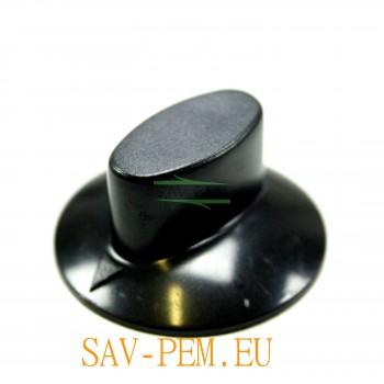 Manette noire table vitrocéramique AIRLUX et GLEM