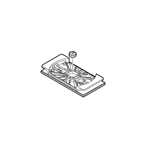 plateau pour ponceuse bosch pss240a sav pem. Black Bedroom Furniture Sets. Home Design Ideas