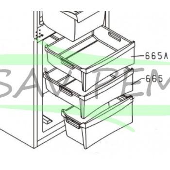 Bac congélateur pour réfrigerateur GLEM GRI31CA