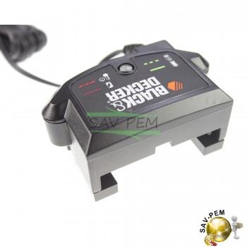 Chargeur 8-20V électroportatif Black et Decker