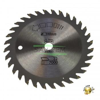 Lame 140mm scies circulaires BLACK & DECKER