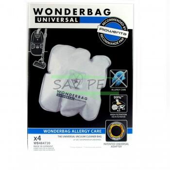 Sacs WB484720 WONDERBAG ENDURA Aspirateur ROWENTA et MOULINEX