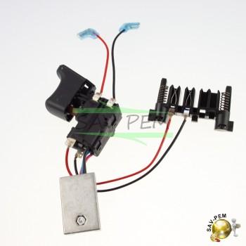 Interrupteur de perceuse BLACK  et  DECKER