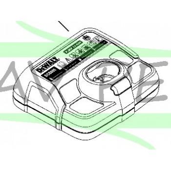 Chargeur 7,2V pour tournevis DEWALT