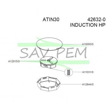 inducteur pour plaque de cuisson tin3bk airlux sav pem. Black Bedroom Furniture Sets. Home Design Ideas
