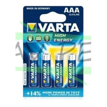 Piles LR03 VARTA (x4)