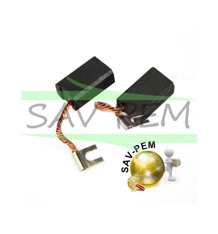 Charbons pour meuleuse PEUGEOT 180MA - 230MA