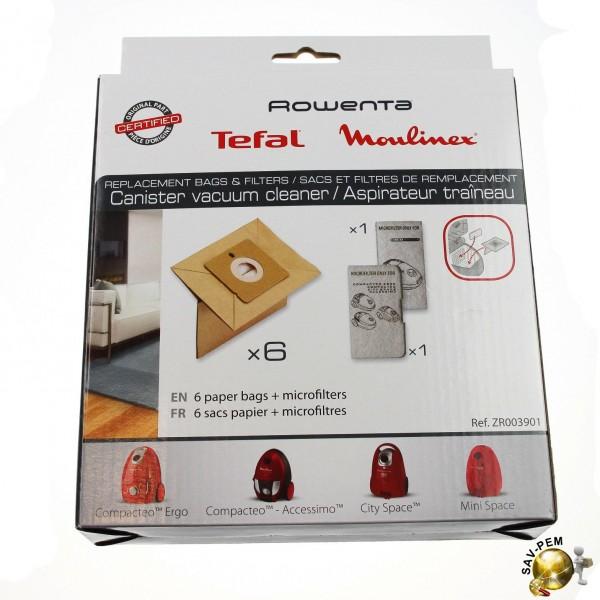 sac aspirateur moulinex compacteo accessimo. Black Bedroom Furniture Sets. Home Design Ideas