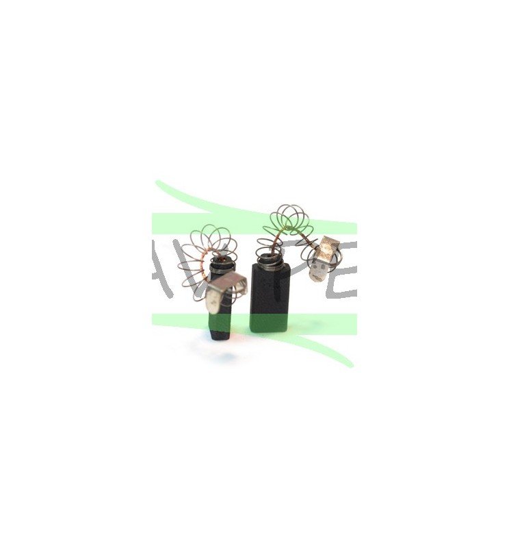 Charbons X 2 AEG, ATLAS COPCO B2-16, BV16A, SB2E901, SB2E1001, SB2E1001RL