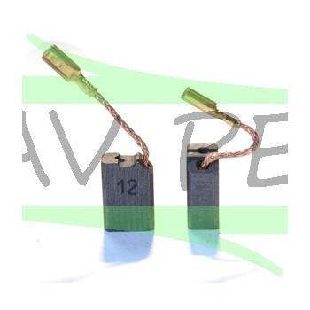 Charbons pour meuleuse DeWalt D28159A - D28154A - D2