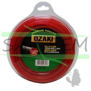 Fil nylon Ozaki rond 2.4mm 87m
