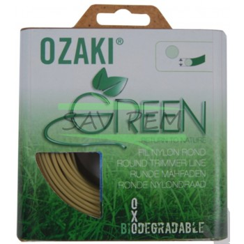 Fil nylon rond Ozaki 2.0mm biodégradable