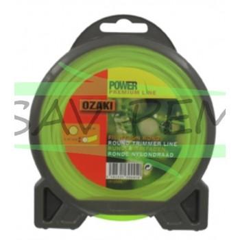 Fil nylon rond Ozaki Premium line 1.6mm