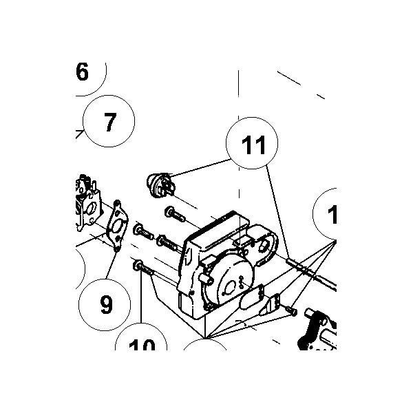 Pompe amorcage pour debroussailleuse ryobi 305rt sav pem - Pieces detachees pour coupe bordure ryobi ...