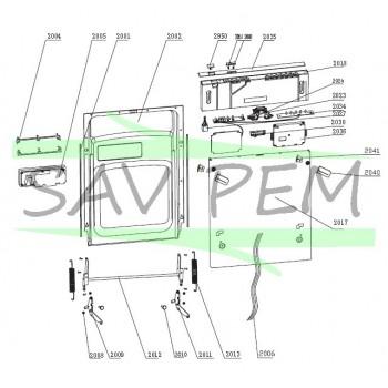 Module de programmation pour lave vaisselle GLEM ADI45
