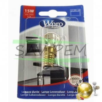 Ampoule LFO137 speciale  four E14 , 15w , 300 degres