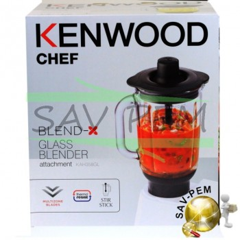 Bol blender AW22000005 pour robots KENWOOD CHEF - MAJOR