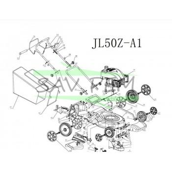 Roue arrière GREATLAND JL50Z-A1