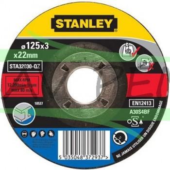 STA32030 Disque agglomérés pour meuleuse 125 x 22 x 3.2mm