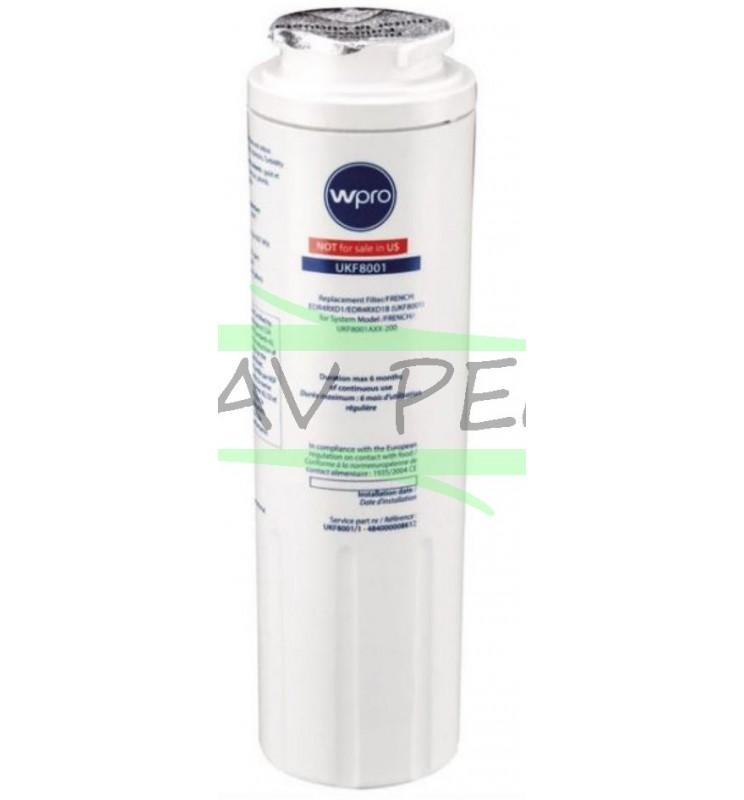 4//UKF8001 Réfrigérateur Filtre à Eau compatible avec Maytag Amana Admiral