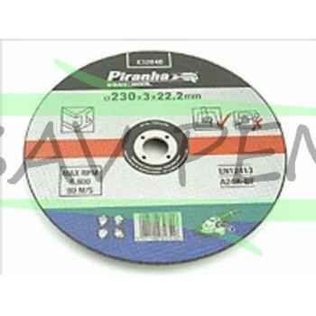 X32040 Disque à tronçonner 230mm pour métal