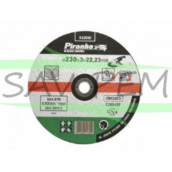 x32090 Disque à tronçonner la pierre 230mm