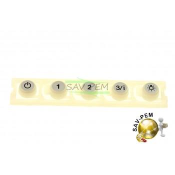 Kit bouton de commande hottes AIRLUX AHB98IX