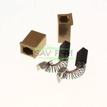 Charbons X 2  pour scie radiale METABO KGS255PLUS, KGS255