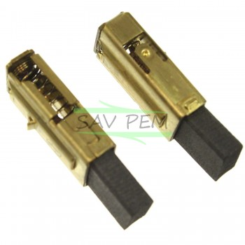Charbons 316046950 X2 pour Perceuses MEBATO BHE2243, KHE2643, SBE900