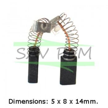 Charbons Scie AEG ST400(110-127V)  -ST500(110V)  -