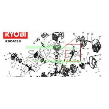 Bobine d'allumage 5131000389 pour RYOBI RBC40SB