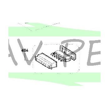 Clavier de commande Z00SP0484000 pour hotte AIRLUX HC45