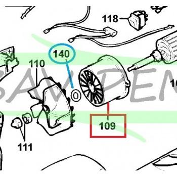 Rondelle 574756-00 souffleur BLACK & DECKER BV2500, GW200, GW225, GW250