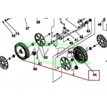 Roue arrière tondeuse GREATLAND CLTO139T46SP, TOT911317, 3700169113173
