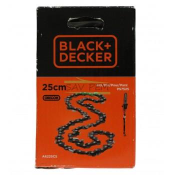Chaîne 25cm élagueuse BLACK & DECKER PS7525