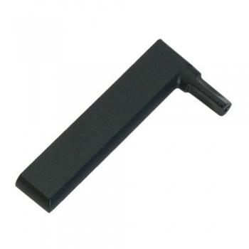 Embout visiere droit noir hotte AIRLUX GLEM HC249 XHC249 HC250