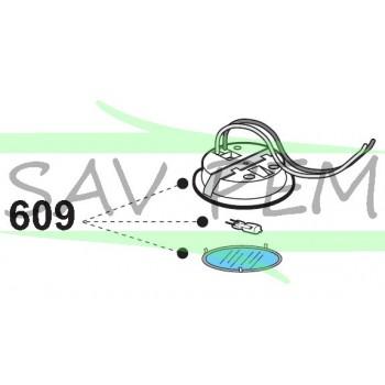 Spot complet ZSPK3427  hotte AIRLUX AHW990BK, AHW990IX, AHW99BK, AHW99IX