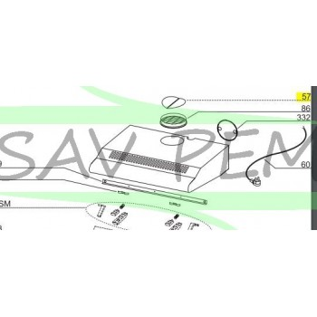 clapet anti retour 125mm pour hotte airlux glem sav pem. Black Bedroom Furniture Sets. Home Design Ideas