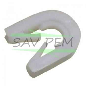 Palier charnière de porte 00165296 pour lave vaisselle AIRLUX LV21, LV27