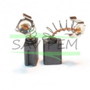 Charbons X2 BLACK & DECKER KD650, KD70KC, KD960, KD975, KD985, KD990