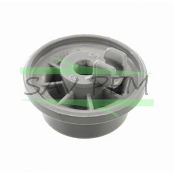 Roulette de panier inferieur pour lave vaisselle BOSCH - GAGGENAU - SIEMENS