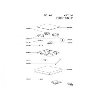 Foyer Induction plaque AIRLUX et GLEM