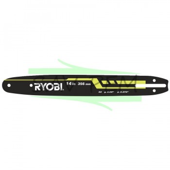 Guide 35cm RAC247 pour tronçonneuse RYOBI RCS1935
