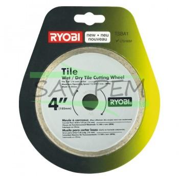Disque de coupe scie à carrelage électrique RYOBI LTS180M