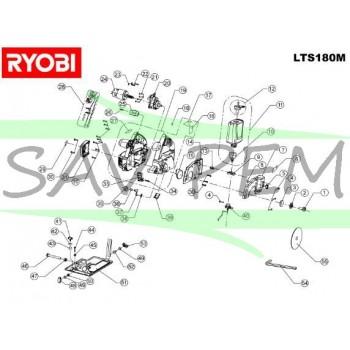 Réservoir à eau scie à carrelage RYOBI LTS180M